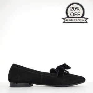 Donald J Pliner | Black Harriet Suede Shoes | 7.5M